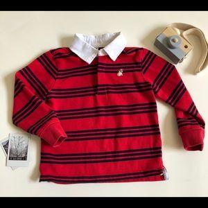 4/$25 Janie and Jack Polo Shirt Long Sleeve